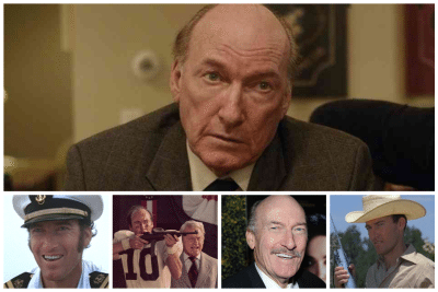 Collage of images from Ed Lauter's Hollywood film career