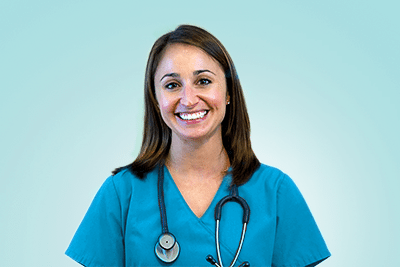 Photograph of Jenna for nurses corner