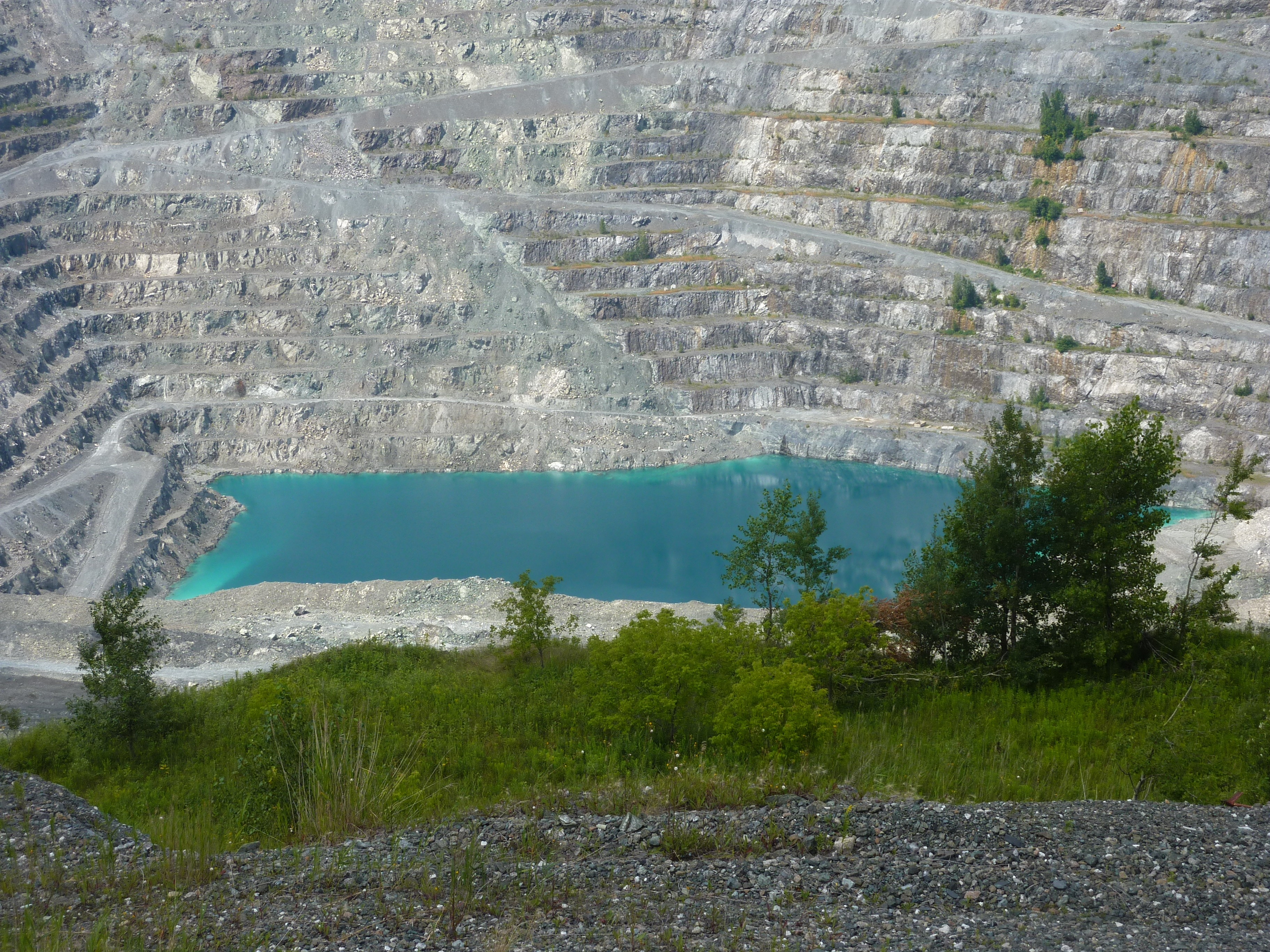 Asbestos Mine in Montreal, Canada