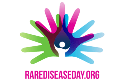 Image of rare disease day logo