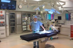 Image of Dr Dasilva at an Operating Table