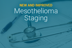 new and improved mesothelioma staging