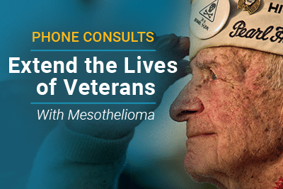 Phone Consults - Extend lives of Veterans