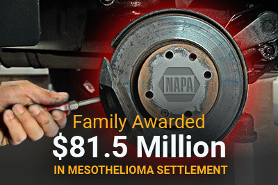 Family Awarded $81.5 Million in Mesothelioma Settlement