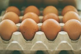 Image of eggs in an egg carton