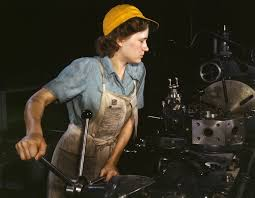 Image of a woman working in the workplace.