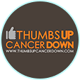 Thumbs Up, Cancer Down logo