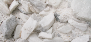 Image of contaminated talc