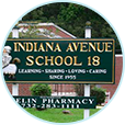 Sign of Indiana Ave School #18