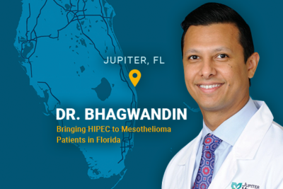 Dr Bhagwandin brining HIPEC to Mesothelioma Patients in Florida