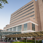 Exterior of MD Anderson Cancer Center