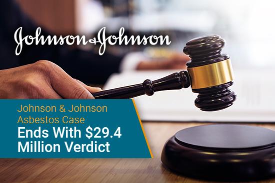 Johnson & Johnson mesothelioma asbestos trial