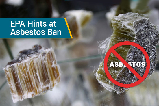 asbestos fibers in products ban