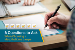 Top 3 Mesothelioma Law Firms And Lawyers